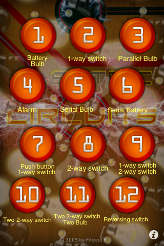 Screenshot Electric Circuits