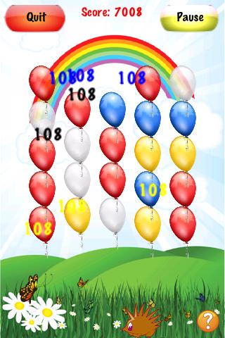 Screenshot Crazy Balloons